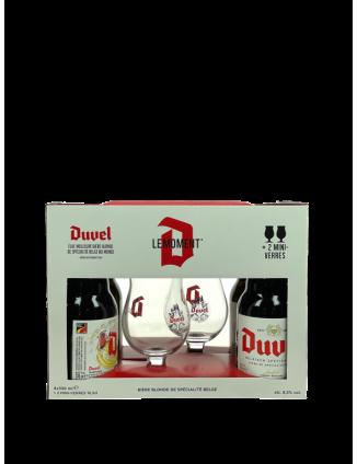 COFFRET DUVEL 4X33CL + 2...