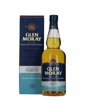 WHISKY GLEN MORAY PEATED...